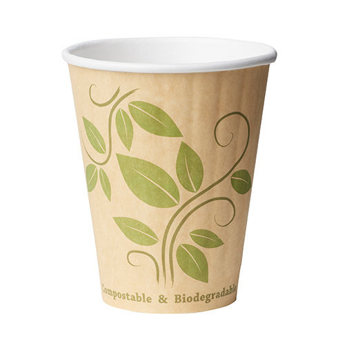 Duni Duurzame dubbelwandige koffiebekers