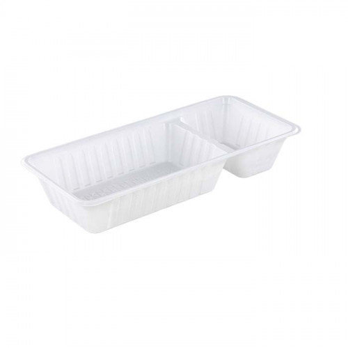 TastToe Plastic frietbakjes A22 (A9+1) in Zwart of Wit