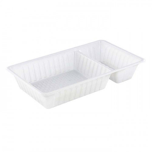 TastToe Plastic frietbakjes A20 (A14+1) in Zwart of Wit