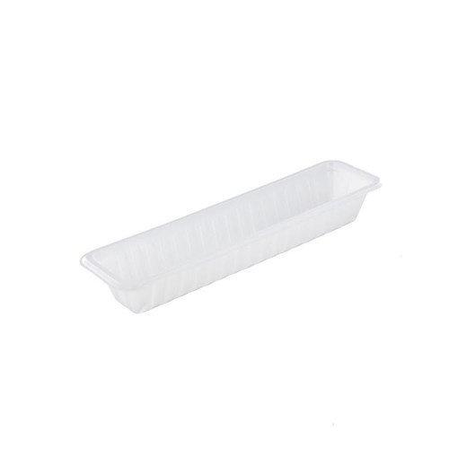 TastToe Plastic frikandelbakje A16S in Zwart of Wit