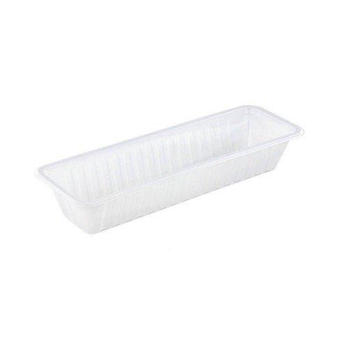 TastToe Plastic frikandelbakje A16N in Zwart of Wit