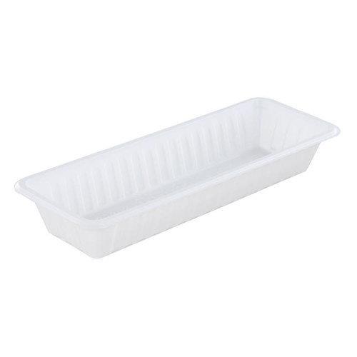 TastToe Plastic frikandelbakje A16B in Zwart of Wit