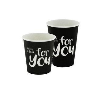 Kartonnen To Go koffiebeker For You