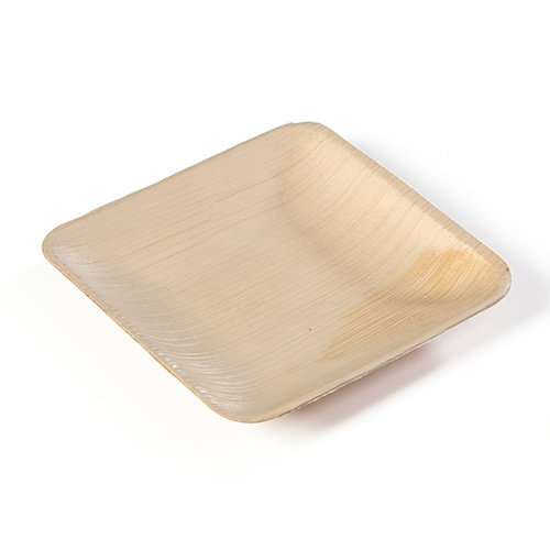 SIER Houten Palm bord vierkant