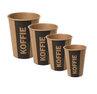 Kartonnen To Go koffiebekers Altijd Koffie