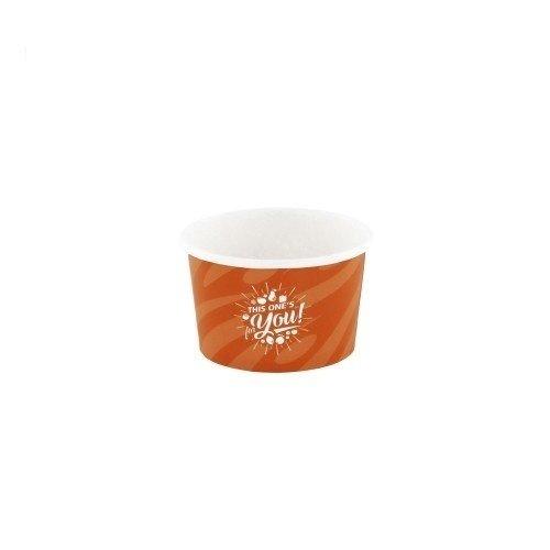 Kartonnen IJsbekers Oranje For You