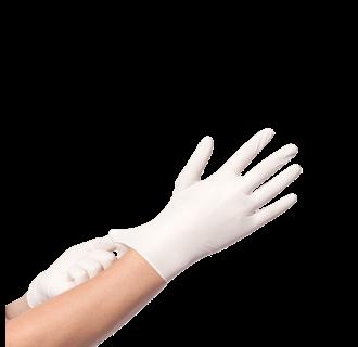 Vinyl Handschoenen Wit