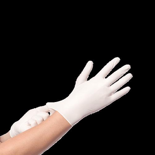 BINGOLD Vinyl Handschoenen Wit