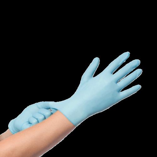 BINGOLD Nitril Handschoenen Blauw