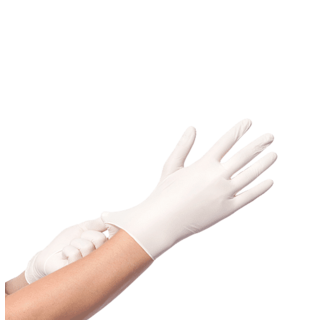 Nitril Handschoenen Wit