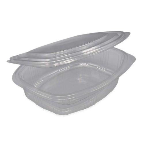 FOLYOTERM Plastic bakjes vaste deksel Ovaal