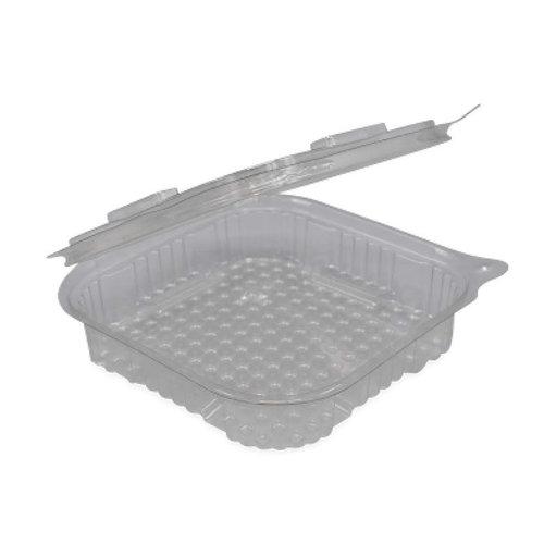 FOLYOTERM Plastic bakjes met vaste deksel vierkant