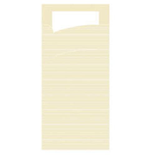 SERVIETTO Bestekzakjes met witte servet