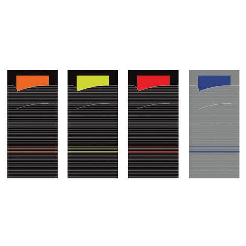 SERVIETTO Bestekzakjes met gekleurde servet