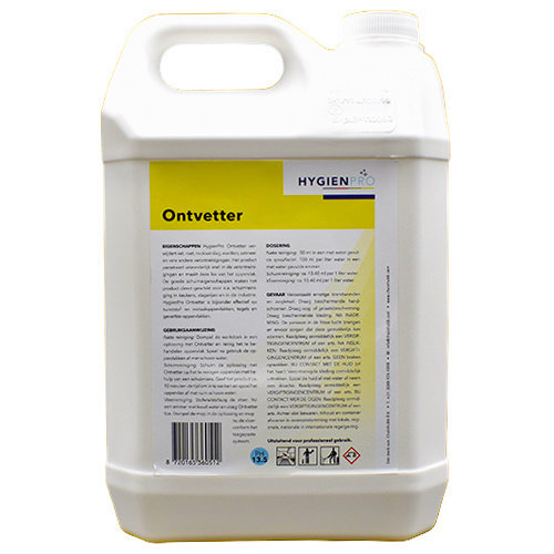HygienPro Ontvetter 5 liter