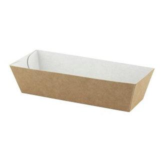 Snackbakjes A5 ECO Karton Bruin/Wit