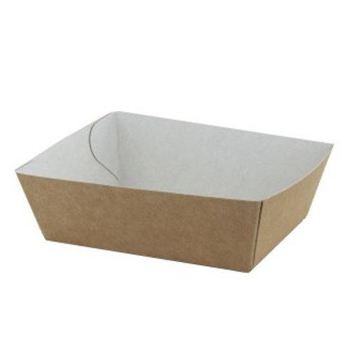 TastToe 50 st. Frietbakjes A7 ECO Karton Bruin/Wit
