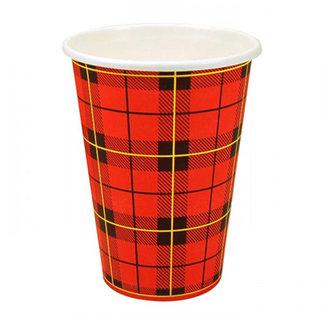 Schotse Ruit Koffiebeker Scotty