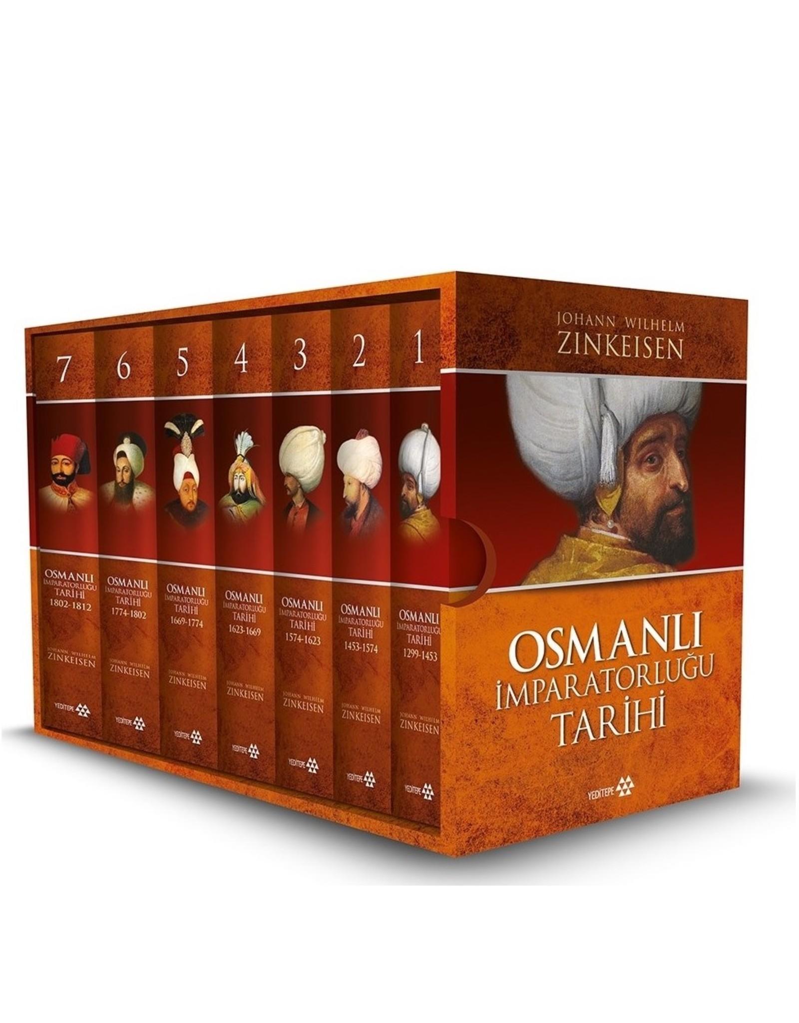 Johann Wilhelm Zinkeisen Osmanlı İmparatorluğu Tarihi (7 Cilt Takım Kutulu)