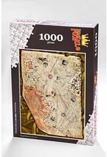 Yapboz Piri Reis Haritası Ahşap Puzzle 1000 Parça