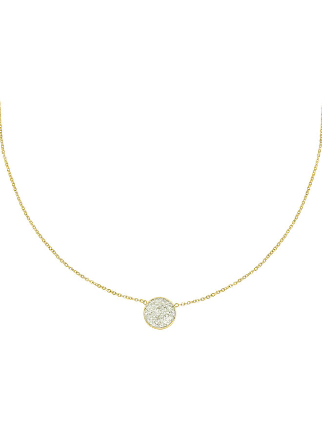 Ketting time to shine gold/silver