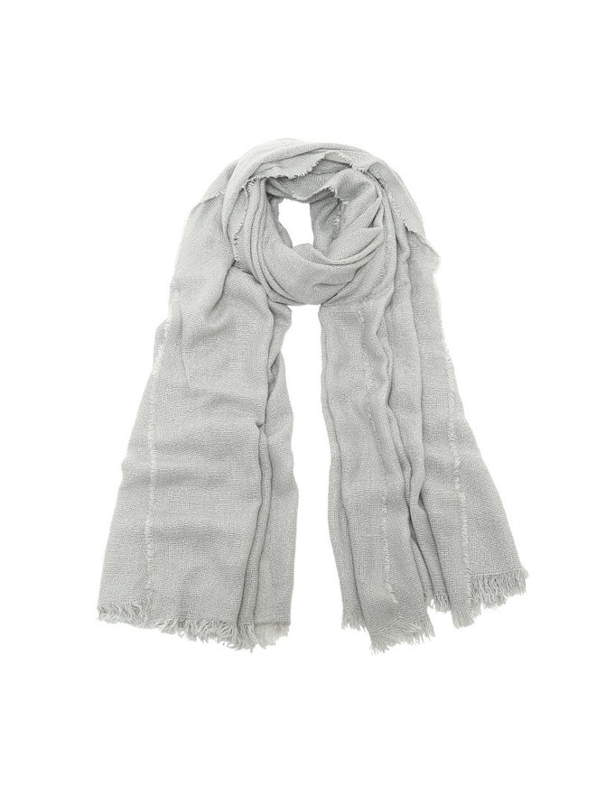 Sjaal grijs glitter