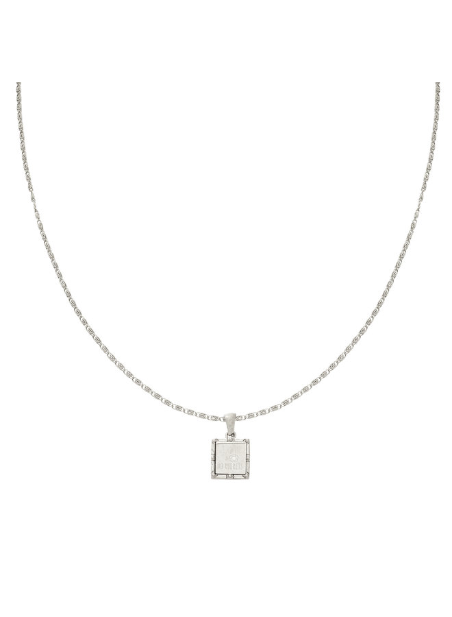 Ketting Head Up silver