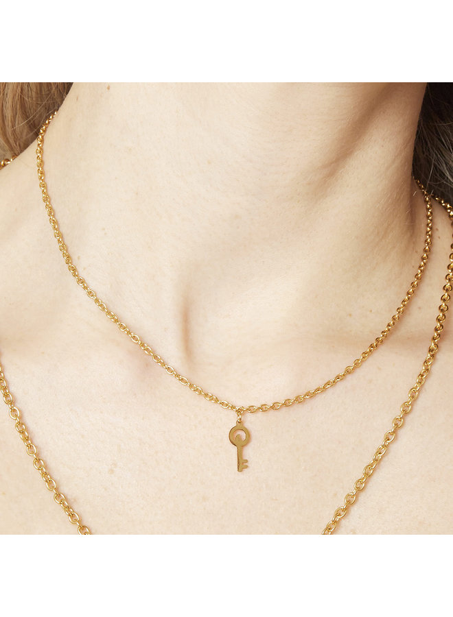 Ketting Special Key gold