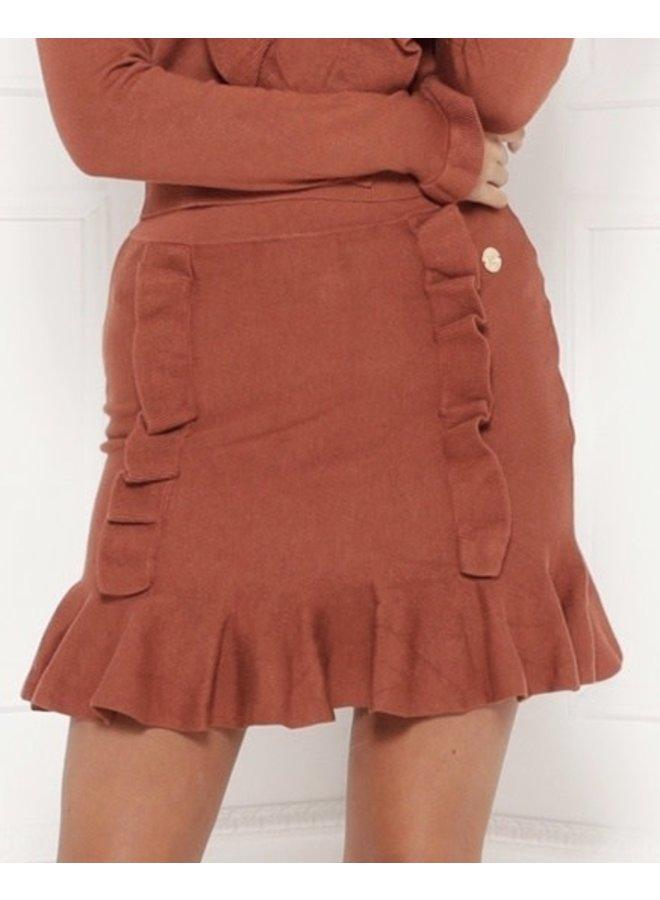 Delousion skirt Iva brown