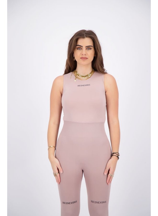 Body Reinders roundneck no sleeves mauve