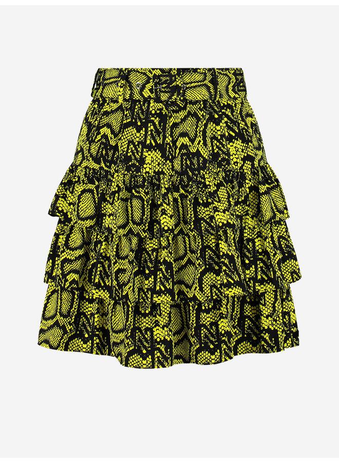 Snakey skirt (poison green)