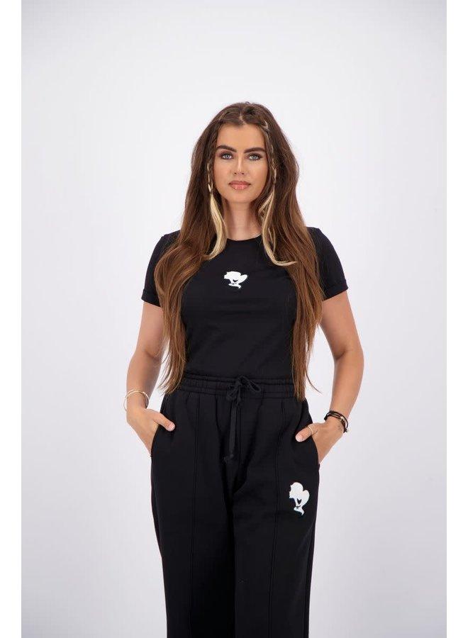 T-shirt Slim Fit True Black