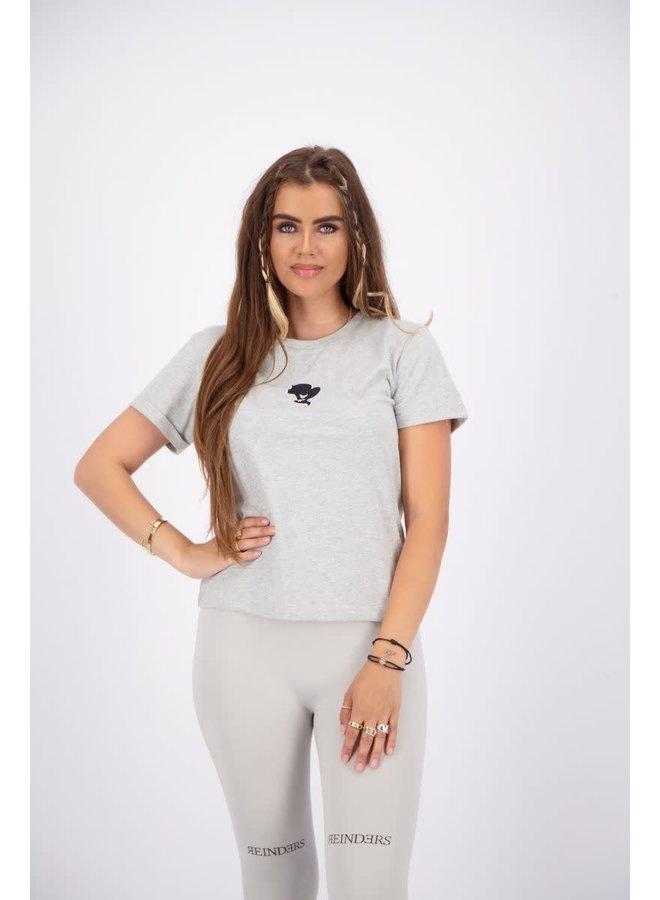 T-shirt Slim Fit Quiet Grey