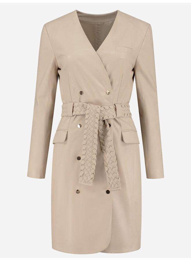 Mace Blazer Dress (pastry)