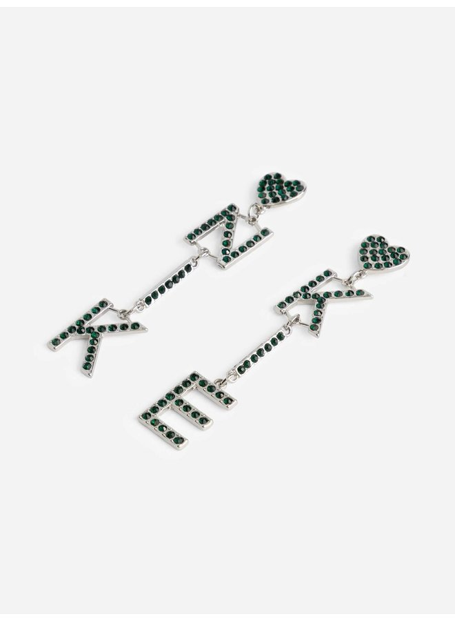 Pleun logo Earrings (Silver)