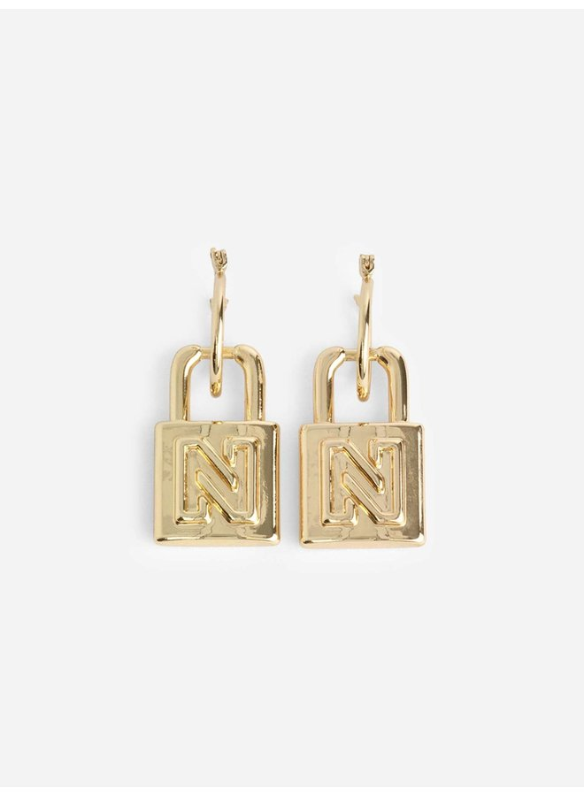 Penny Earrings (gold)