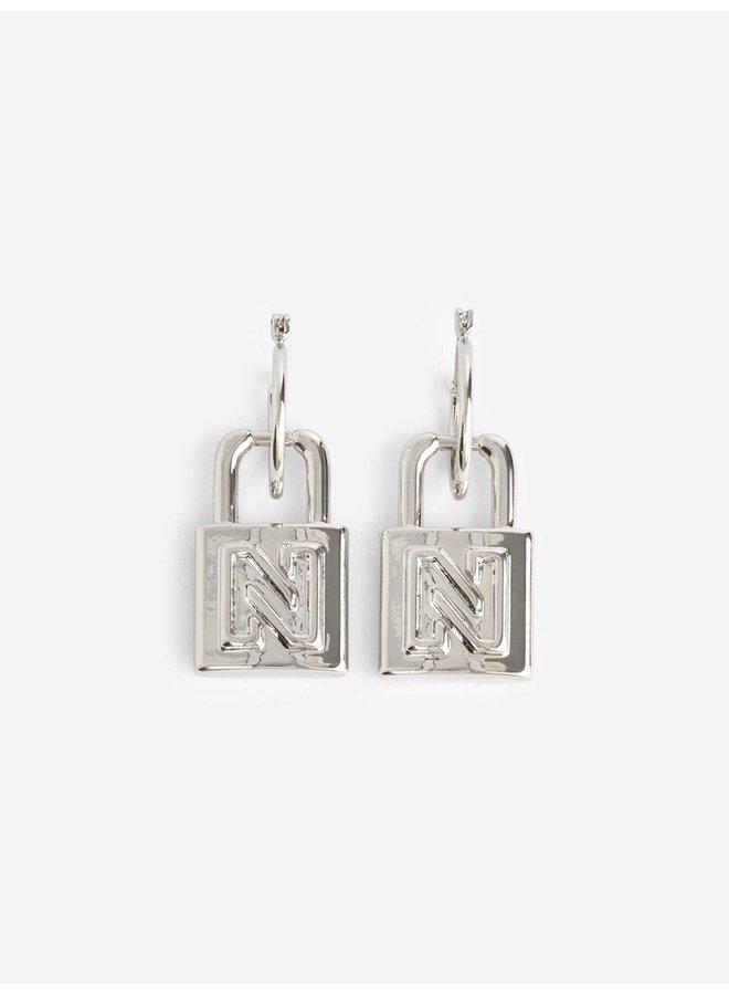 Penny Earrings (Silver)