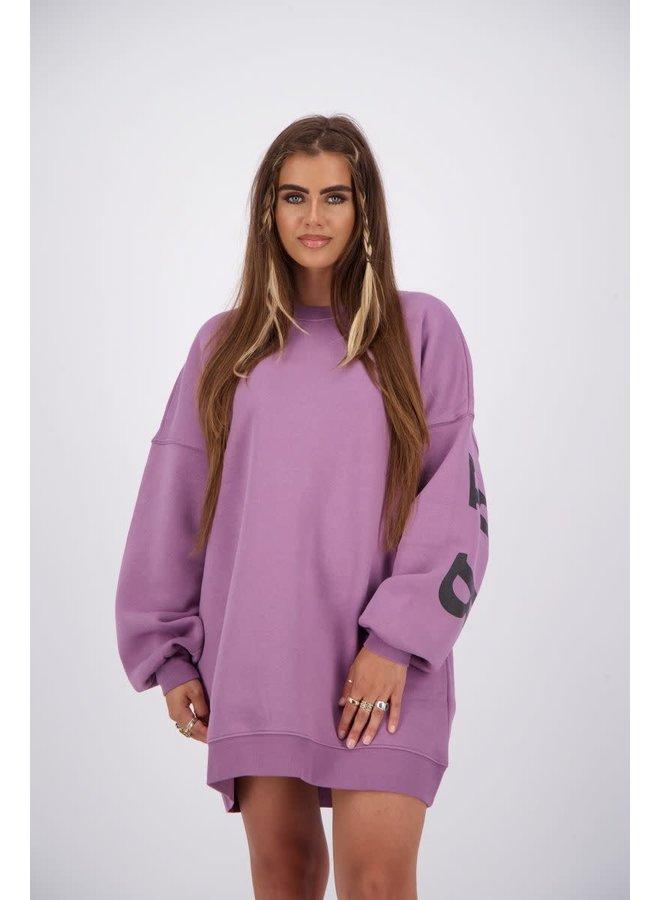 Yara Fay Sweater Dress (Grapeade)