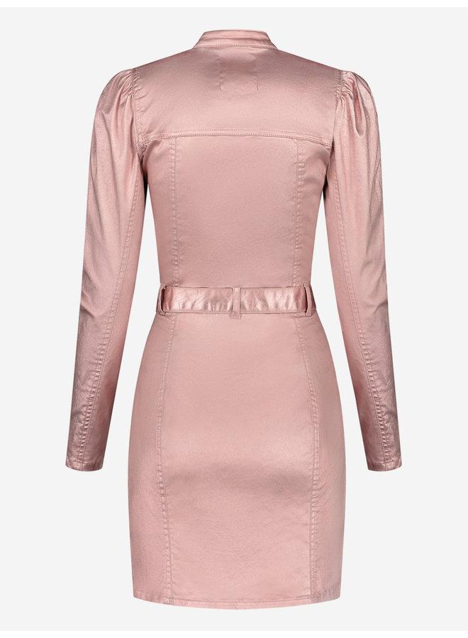 Rose metallic dress (Rose smoke)