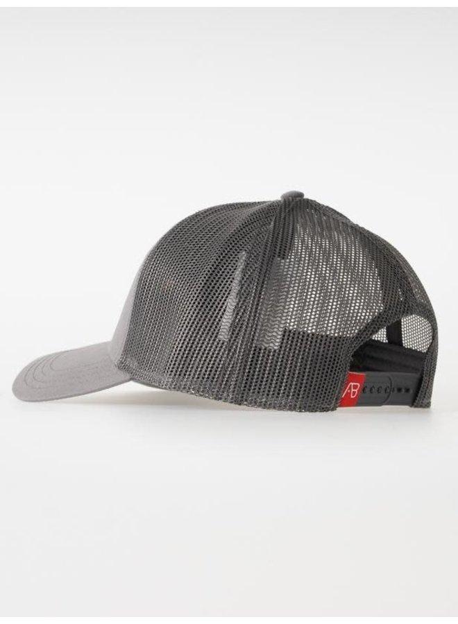 Retro Trucker Cap 2 Tone (Grey/Dark grey)