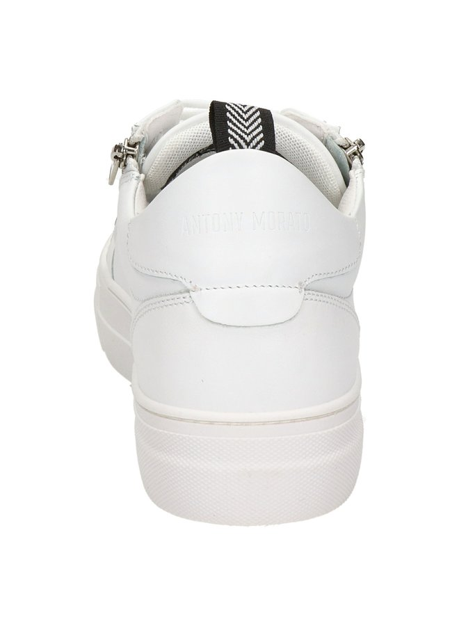 Sneakers White Zipper