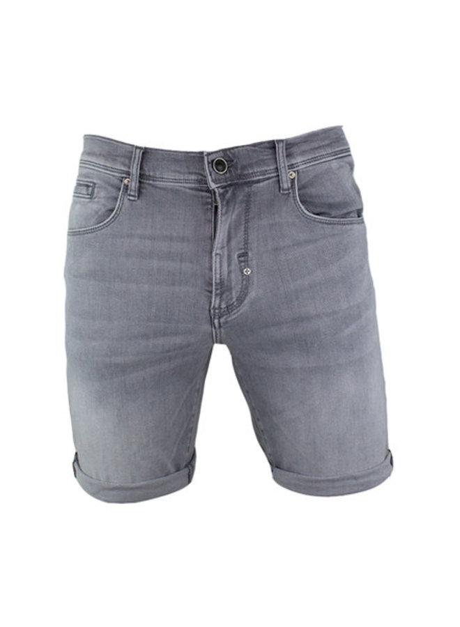 Denim Short Grey Steel