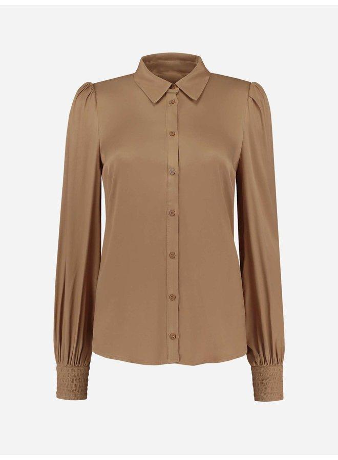 Reiko blouse (Tan)