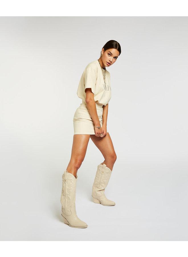 Norah boots (Ecru)