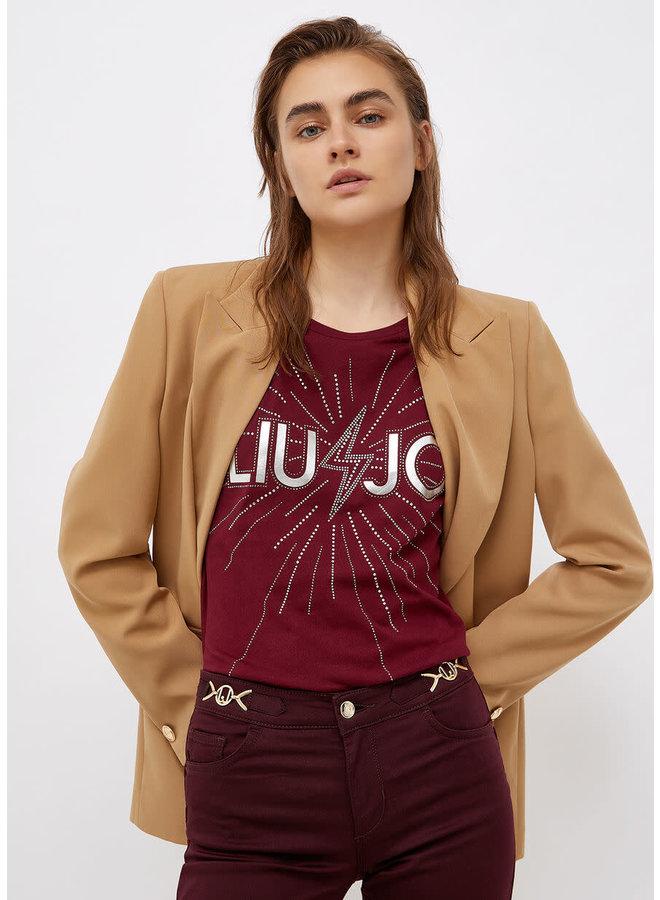 T-Shirt LIU JO Charm Red