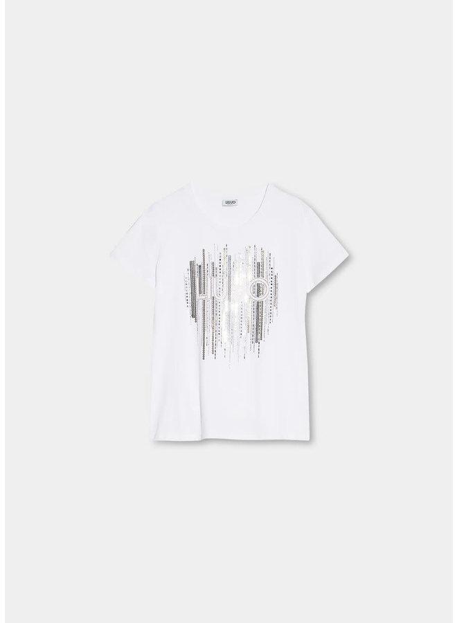 T-Shirt LIU JO Nero (White)