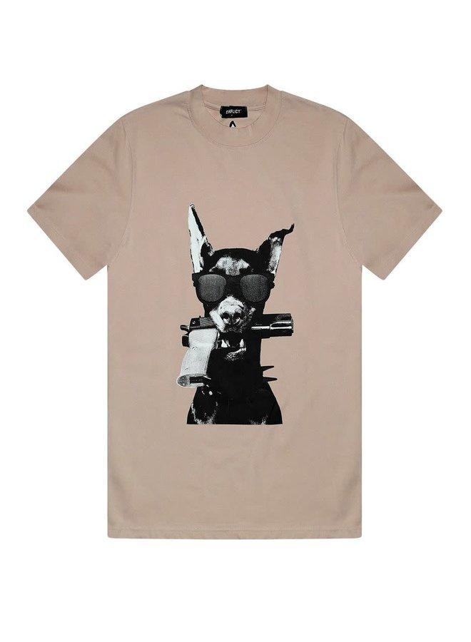 T-shirt Dobermann Beige