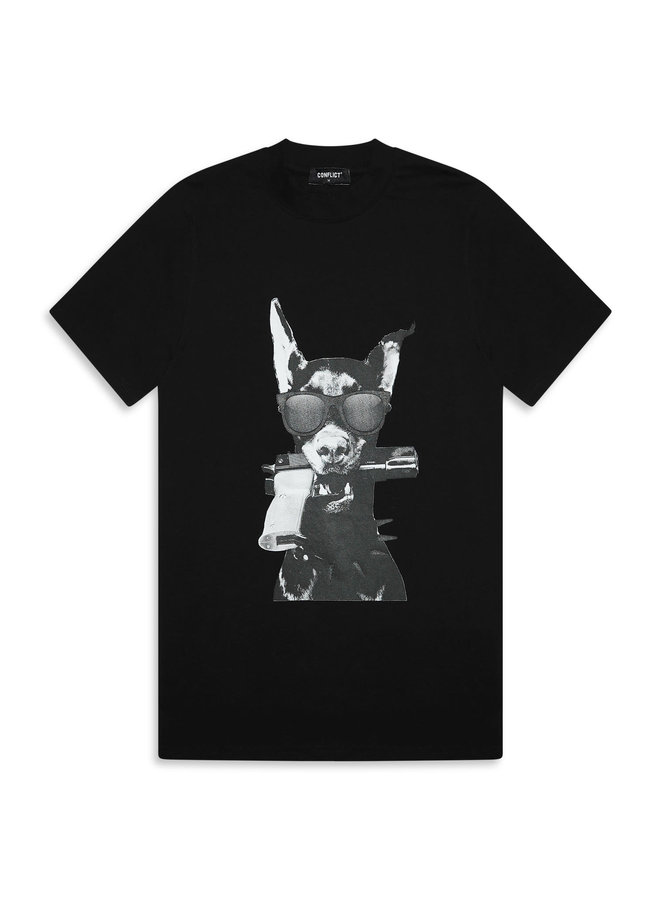 T-shirt Dobermann Black