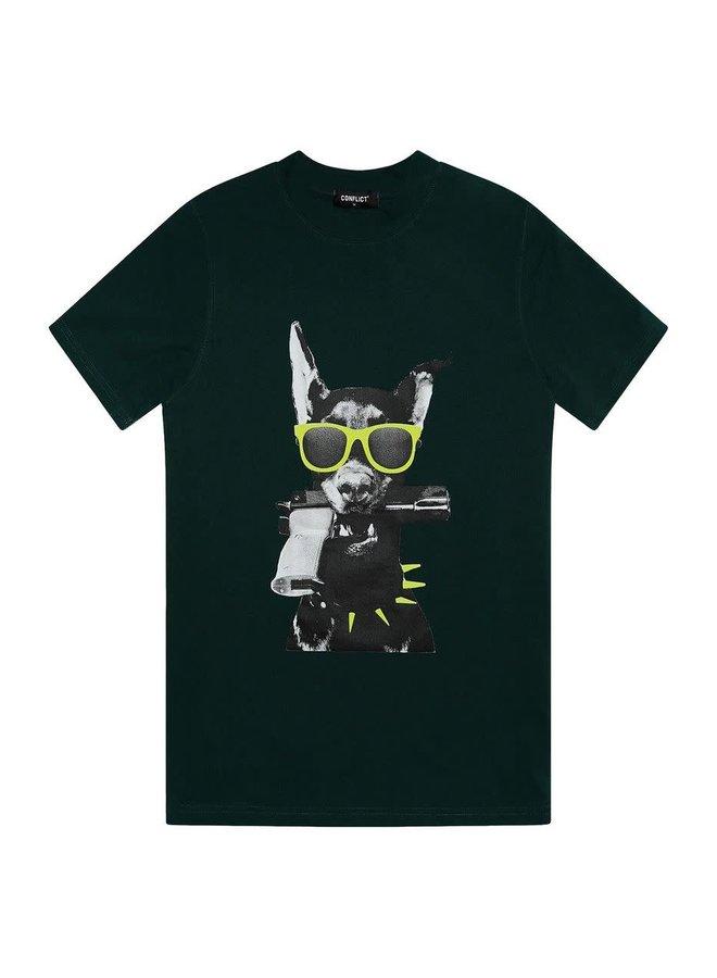 T-shirt Dobermann Green