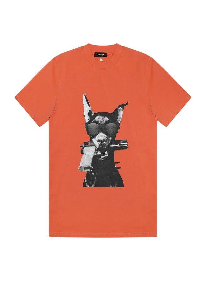 T-shirt Dobermann Peach